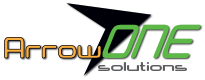 Logo for Arrow One Solutions